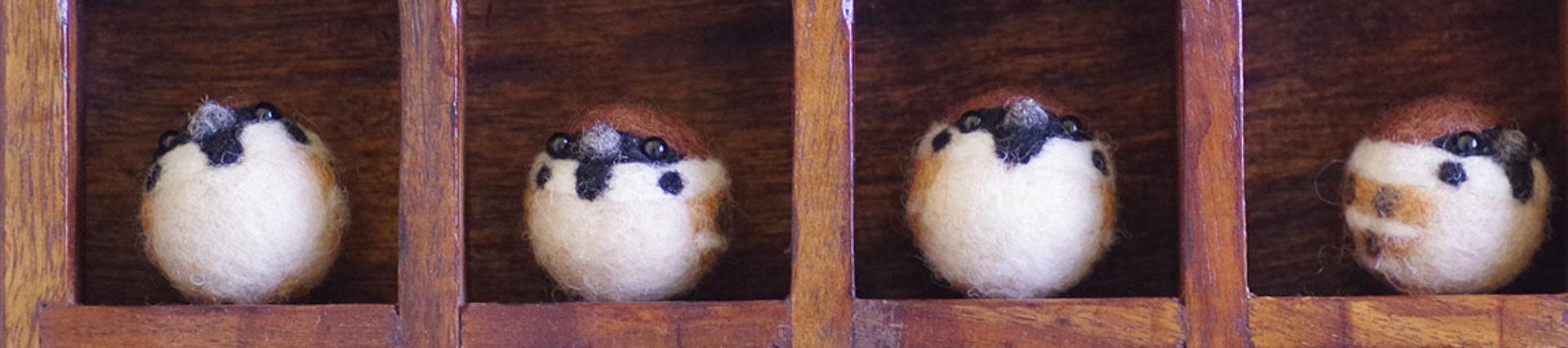 ヨリドリ ~野鳥と羊毛フェルトの部屋~
